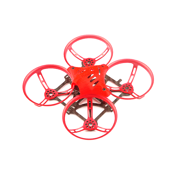 Happymodel 90mm Toad 88 Racing Quadcopter Frame - Red