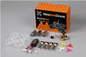 New Bee Drone AcroBee Kit with BeeBrain Lite (SFHSS)組立てフルキット