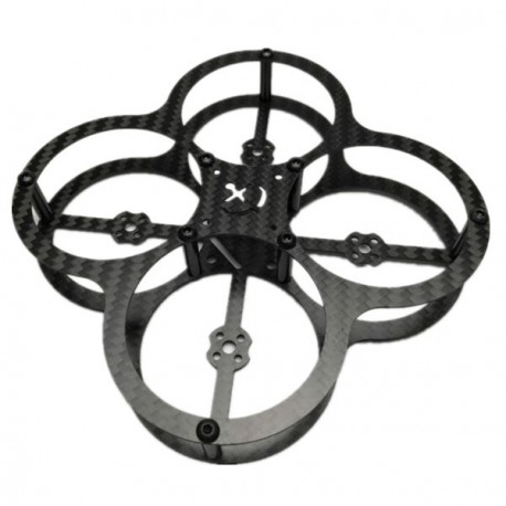Butterfly 80mm 3K Carbon Fiber Brushless Frame Kit