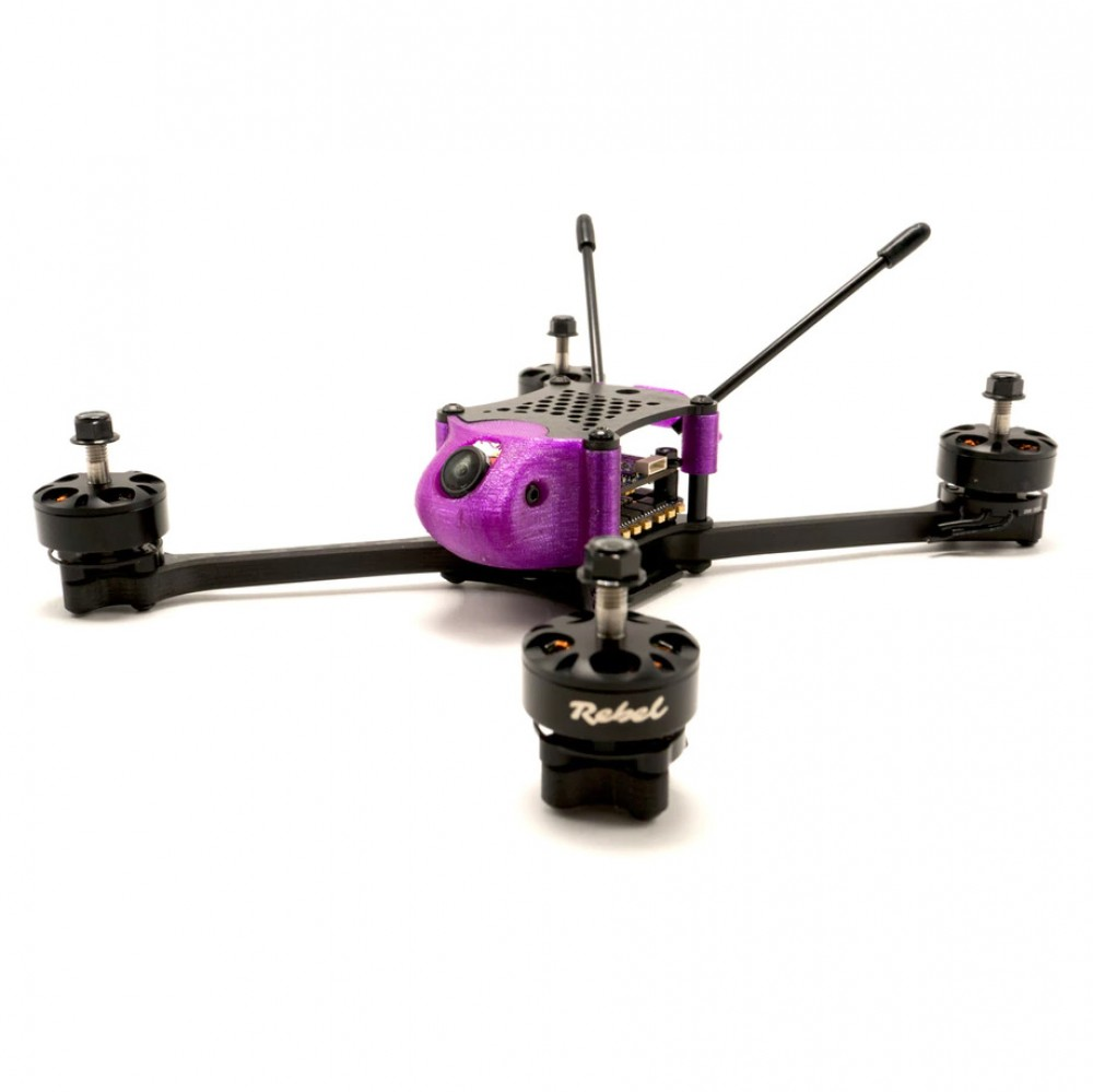 "Rebel ruXus 5"" Stretch X Frame Purple"