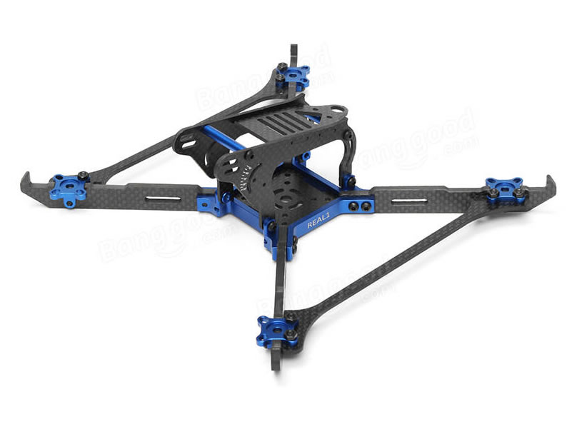Realacc Real1 220mm Vertical Arm CNC Carbon Frame