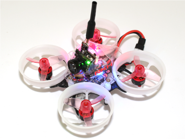 RKH Delrin Carbon 66mm Brushless Whoop FPV BNF-DSM2/X