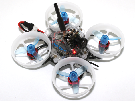 RKH Delrin Carbon 66mm Brushless Whoop FPV BNF-FRSKY