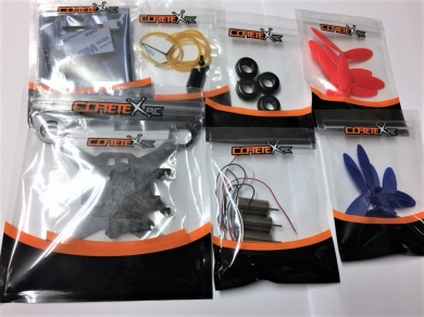 Tiny 117 FPV Hyper Micro Quadcopter 2S ARF Kit