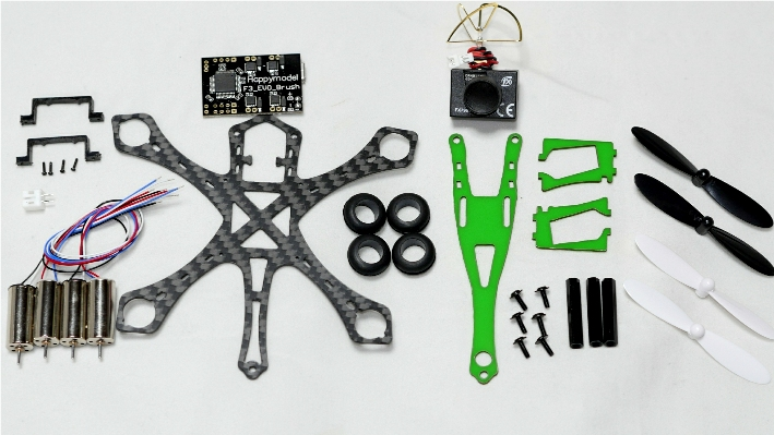 Micro Vespa100 FPV Quadcopter ARF Kit