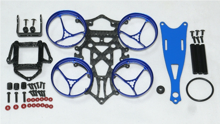 Nano Vespa69HD BETA65X Conversion Frame Kit
