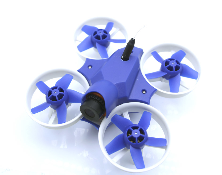 Warlark-85 Pro Brushless FPV Whoop(SFHSS) Blue 完成機