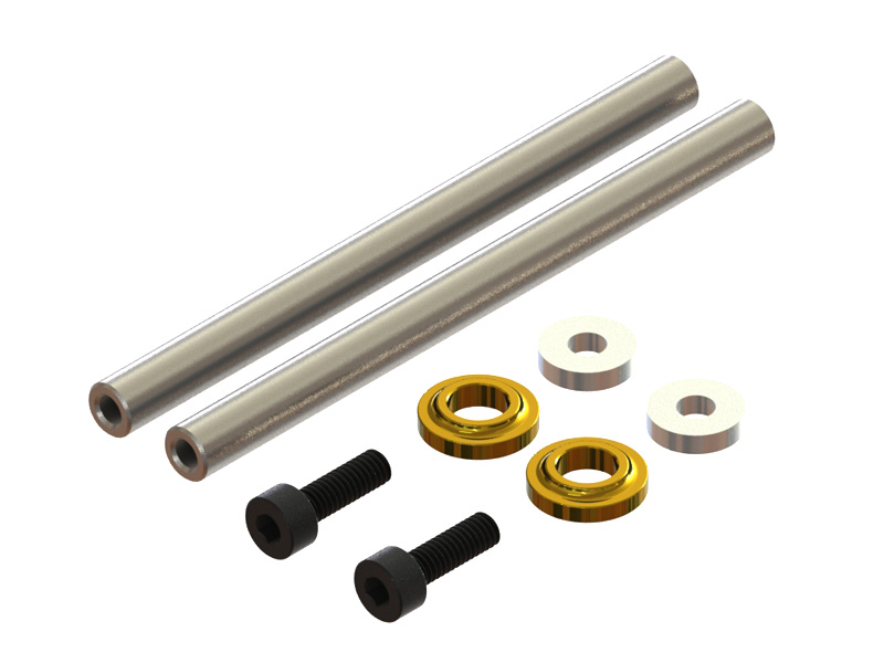 LX1064 - Mini Protos - Carbon Steel Spindle Shaft Set