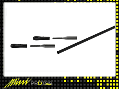 MSH41024 Tail control rod set