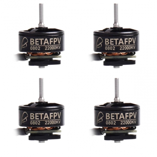 Beta FPV 0802 22000KV Brushless Motors 4set