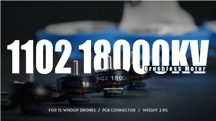 Beta FPV 1102 18000KV Brushless Motors 4set