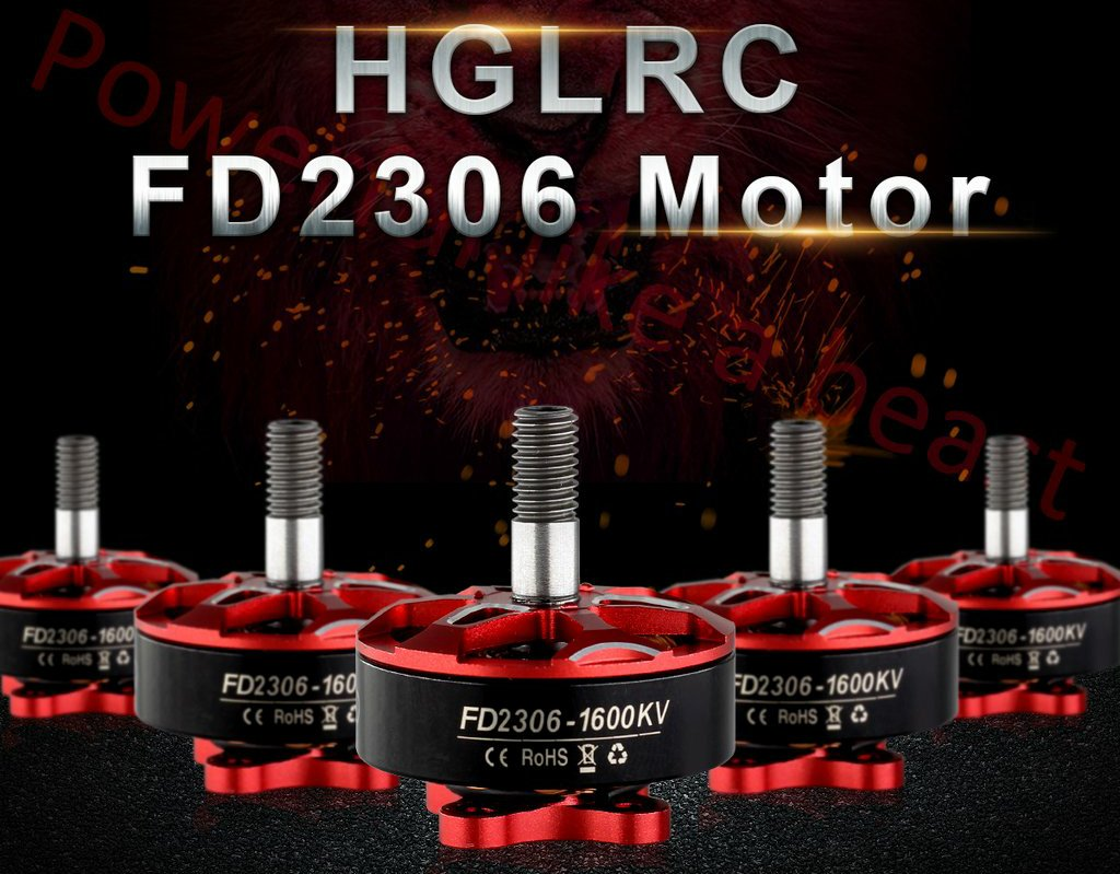 HGLRC Forward FD2306 2450KV 4S Brushless Motor