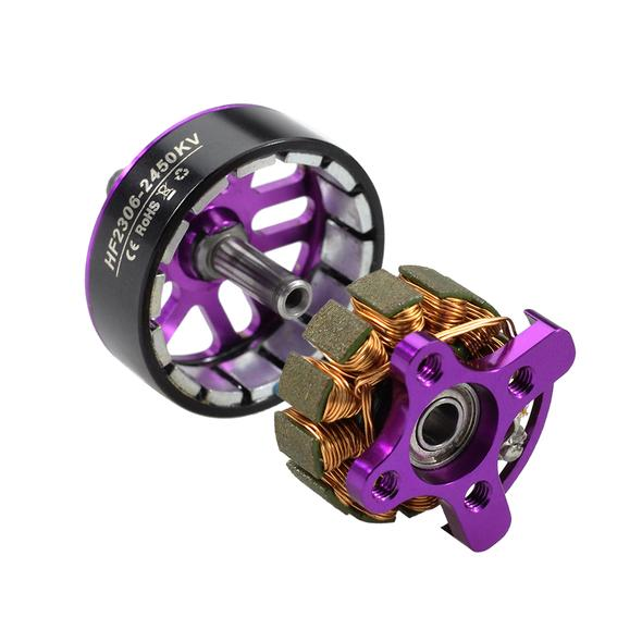 HGLRC FLAME 2306 2450KV 4-5S Brushless Motor