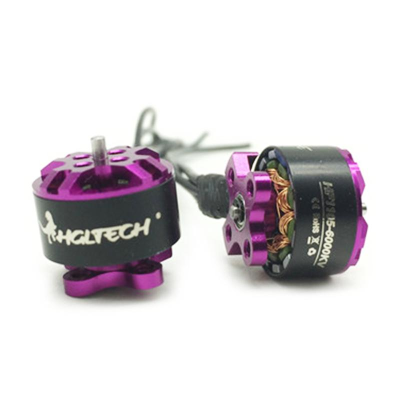 HGLRC FLAME HF1105 6000KV 2-3S Brushless Motor 4SET