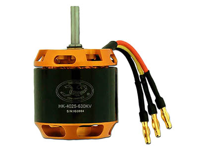 Scorpion Brushless Motor HK-4025(630kv) for T-REX600/Logo500  - ウインドウを閉じる