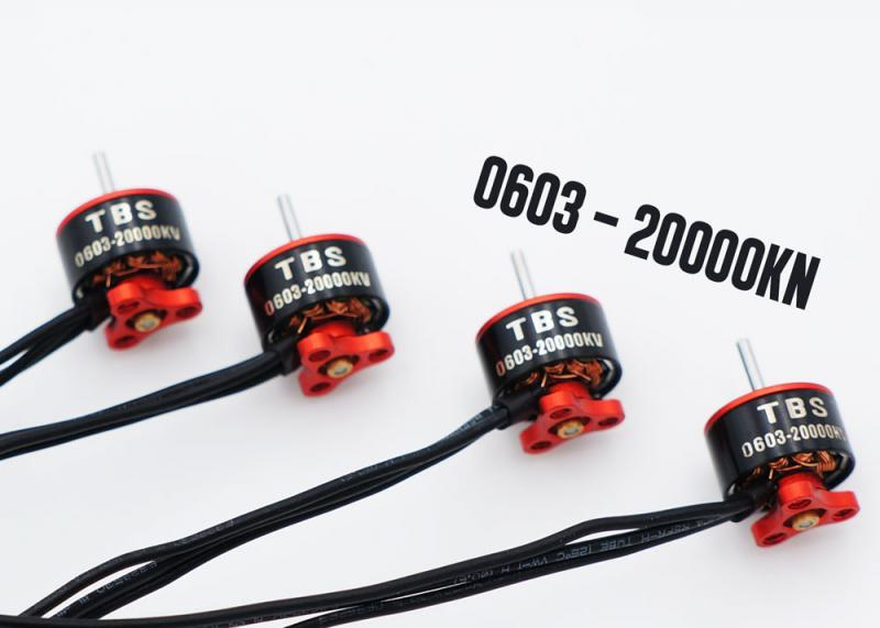 TBS Micro Brushless Motor 0603-20000kv 4set