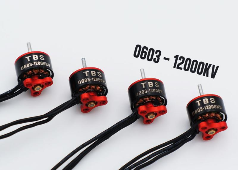 TBS Micro Brushless Motor 0603-12000kv 4set