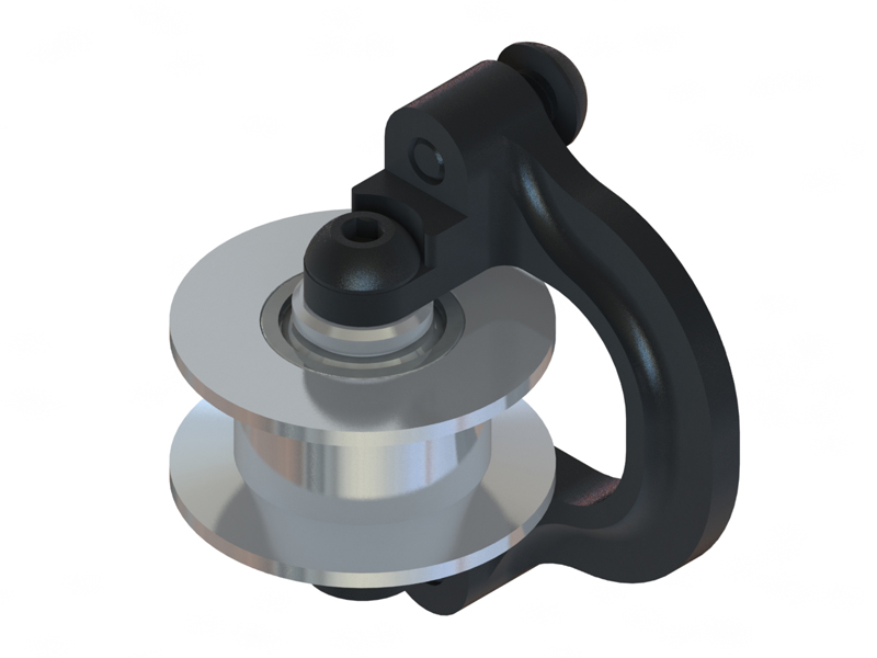 Lynx - Protos 500 - CNC Pinion Belt Tensioner