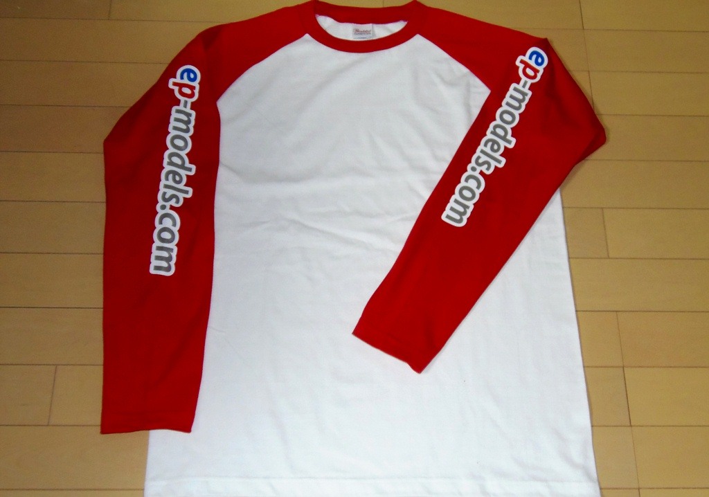 ep-models Long T-Shirt White/Red size L