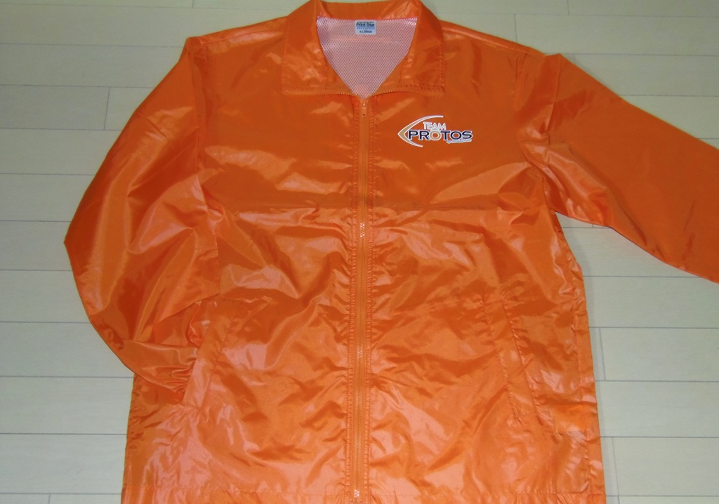 Team PROTOS Half Jacket Orange size Free
