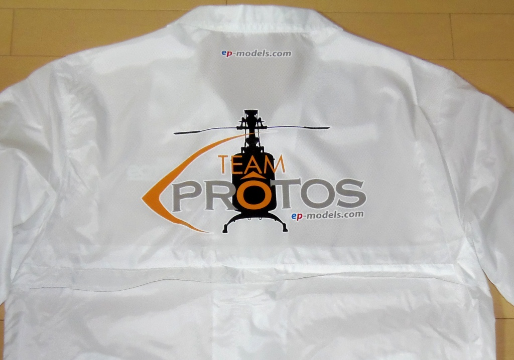 Team PROTOS Half Jacket White size Free