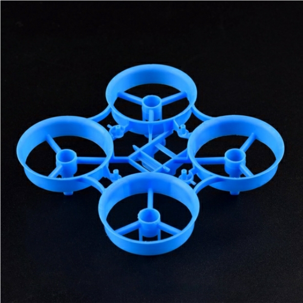 Beta FPV 7x16mm Motor用65mm Tiny Whoop V4 Frame(Blue)
