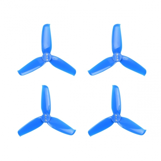 Gemfan Flash Blue 2540 Durable 3 Blade - Set of 2 (2CW, 2CCW)