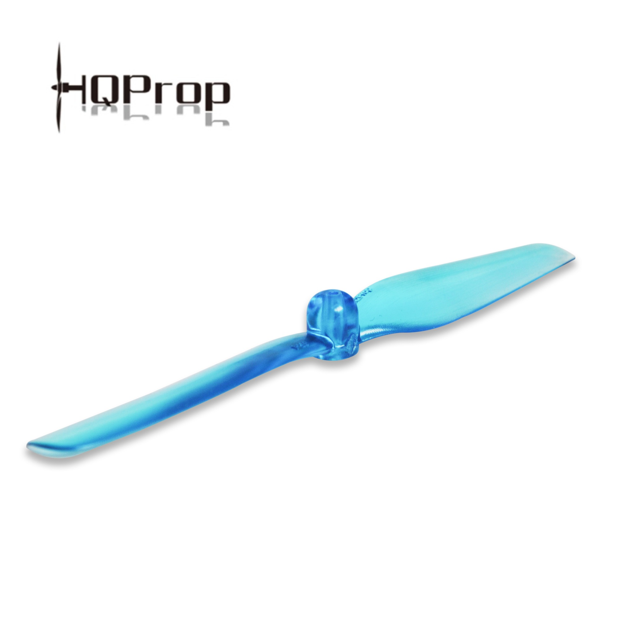 HQ Micro Prop 65mm 2-Blade Propellers (1.5mm Shaft/Blue)