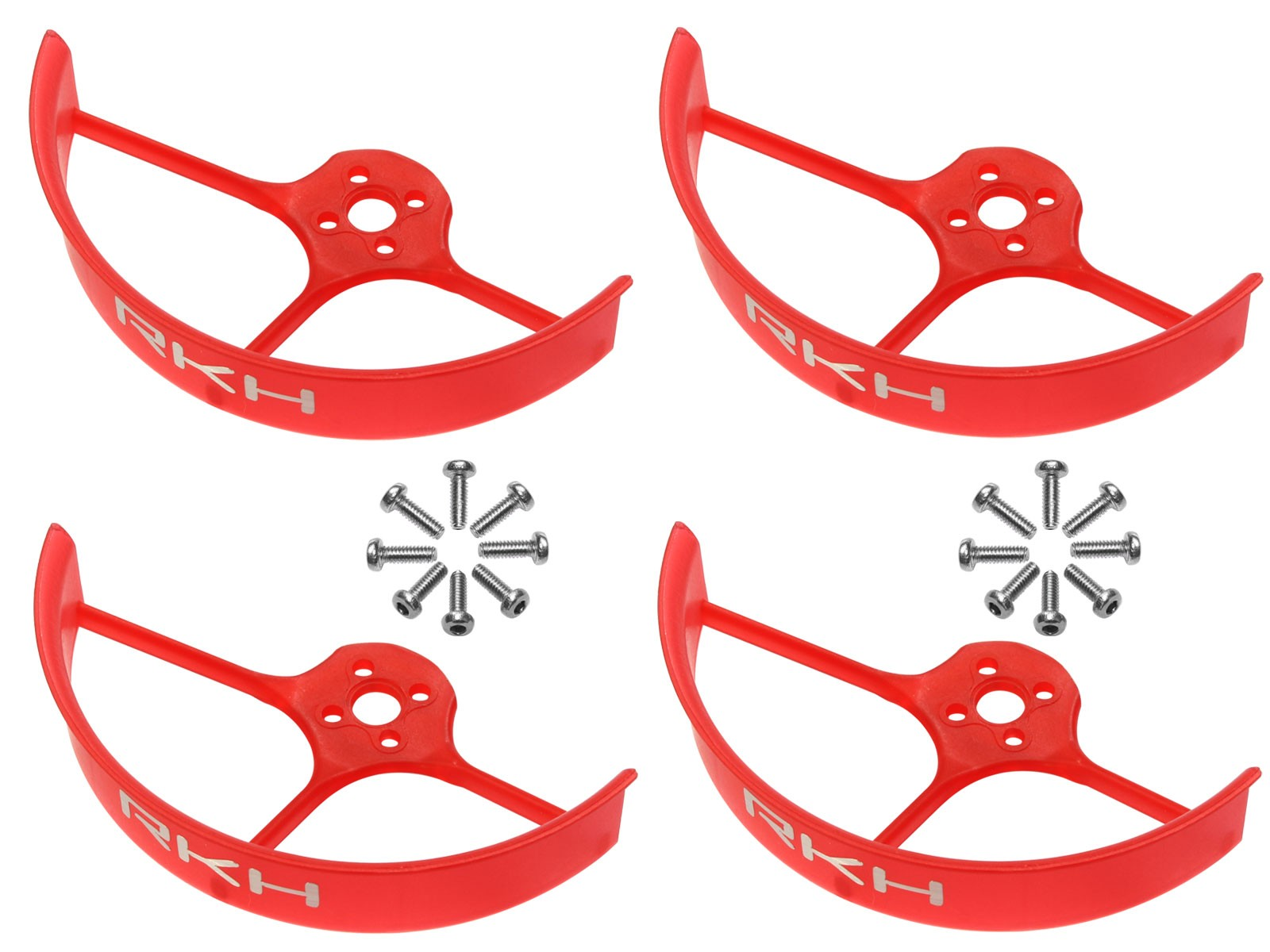 RKH 2 Inch Propeller Guard (4) (Red)