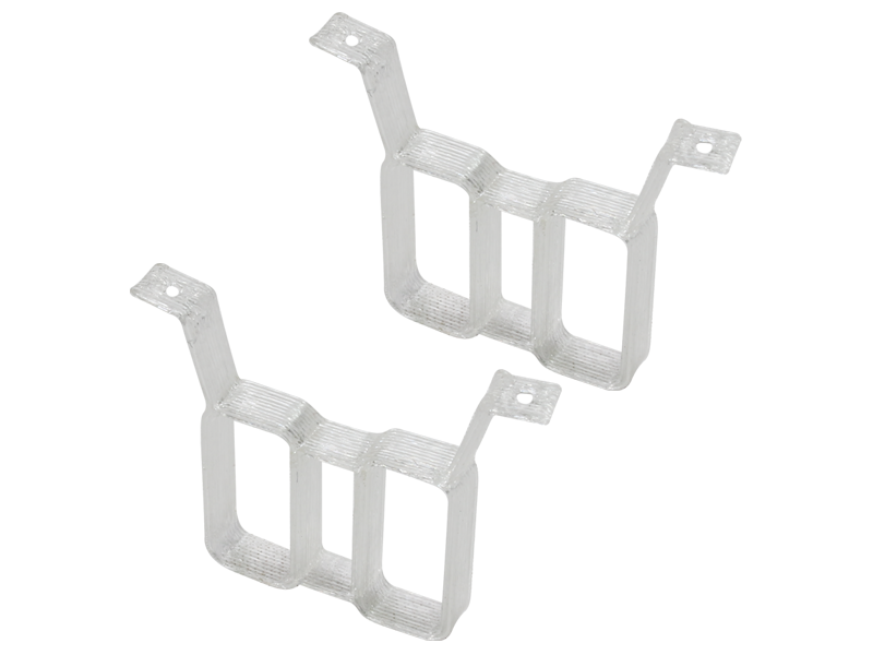 RKH TPU Twin Battery Mount (2) (White)