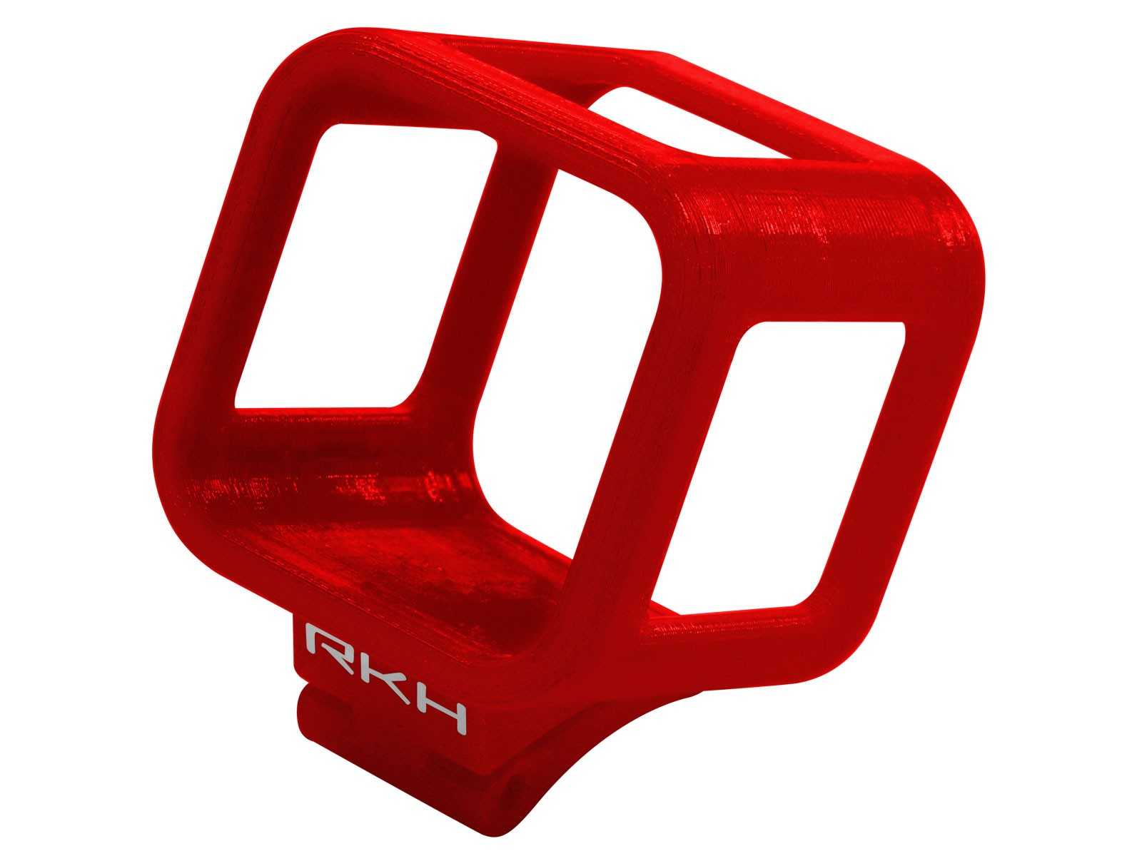 RKH TPU GoPro Session 5 Housing-30 Degree (for BBHR390) (Red)