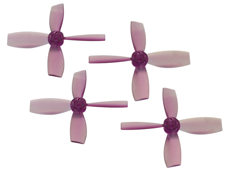 RKH 2222 4 Blade Transparent Propeller (2CW+2CCW; 1.5mm Shaft)Pu