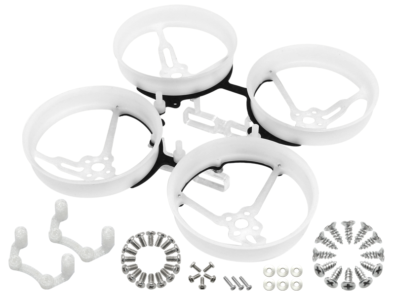 RKH CNC Delrin Carbon 76mm Brushless Whoop Kit (2S)