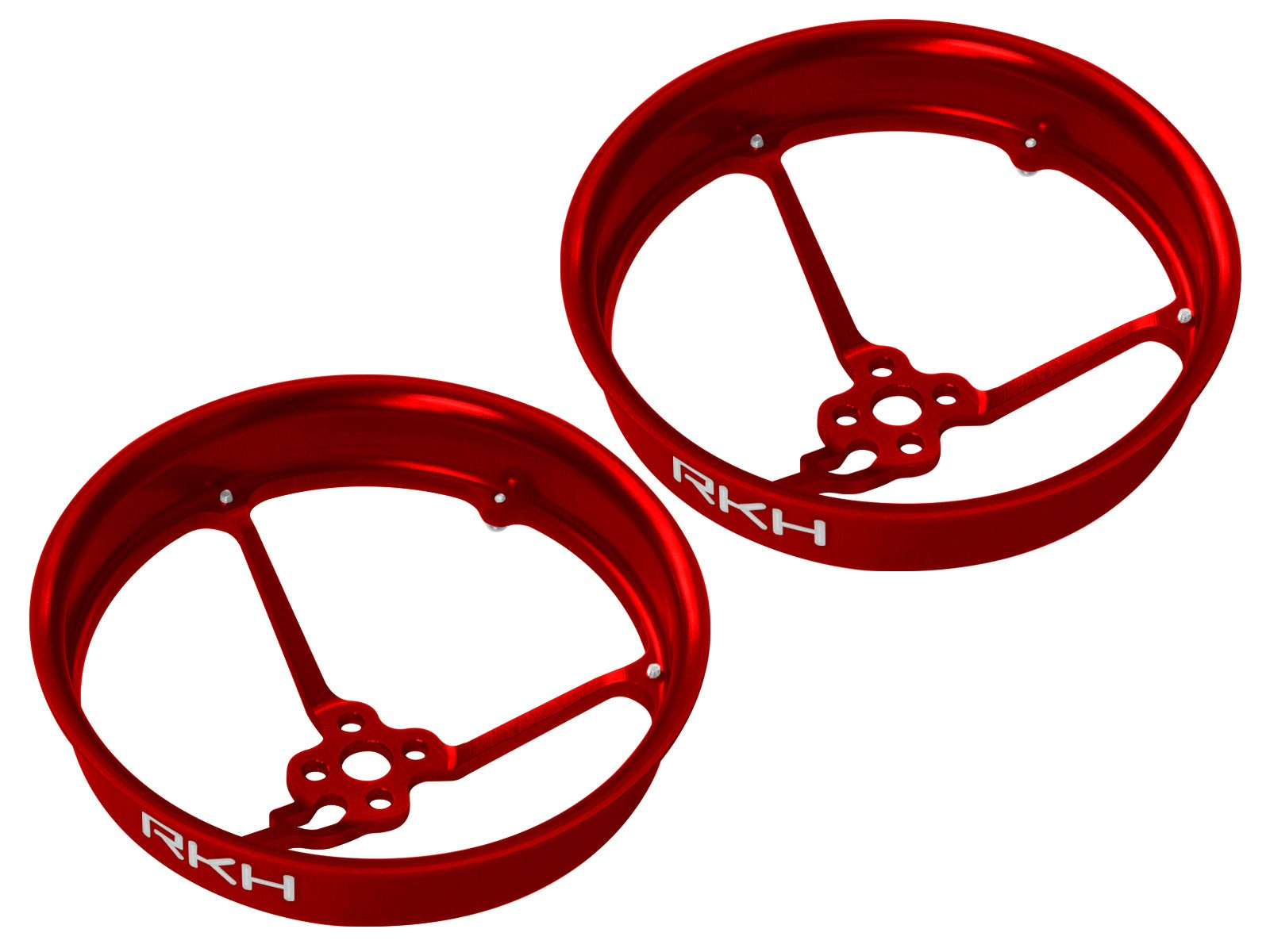 RKH CNC AL 1.9inch Propeller Duct (2) (for 1103-1106 Motor)(Red)