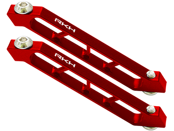 RKH CNC AL Rear Frame Support Set (Red) - Sky-Hero Anakin/Clu