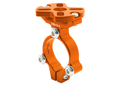 RKH CNC AL Motor Mount (Orange) - Sky-Hero Anakin