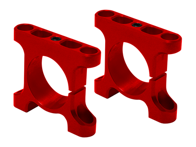 RKH CNC AL Tube Arm Mount Front (Red) - Sky-Hero Anakin