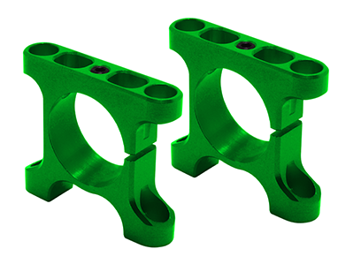RKH CNC AL Tube Arm Mount Rear (Green) - Sky-Hero Anakin