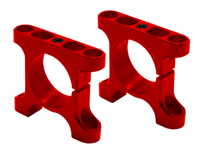 RKH CNC AL Tube Arm Mount Rear (Red) - Sky-Hero Anakin