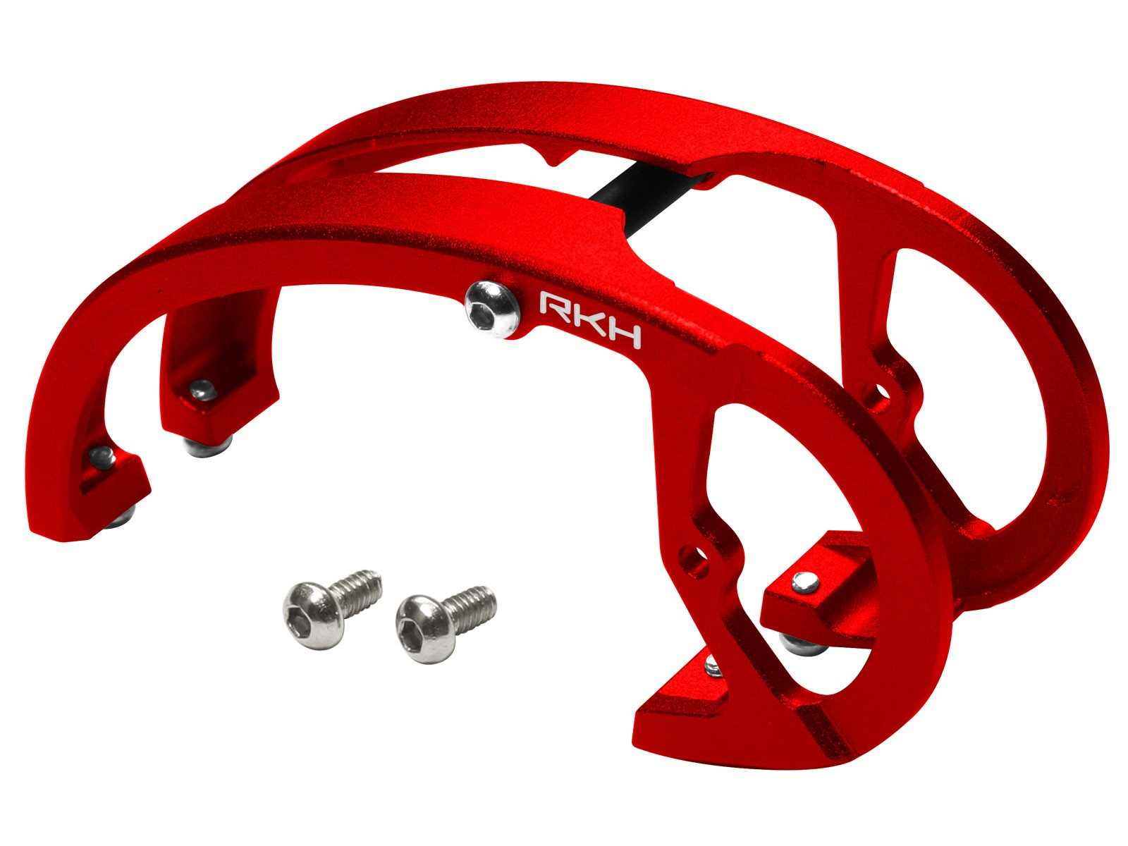 RKH CNC Aluminum Canopy Camera Mount Set (Red) - EMAX Babyhawk R