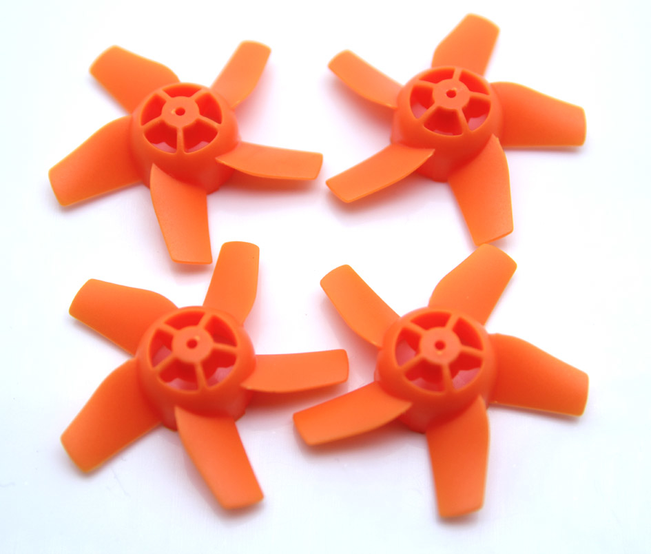 Warlark85PRO用40mm 4-blade prop 4 pcs(ORANGE)