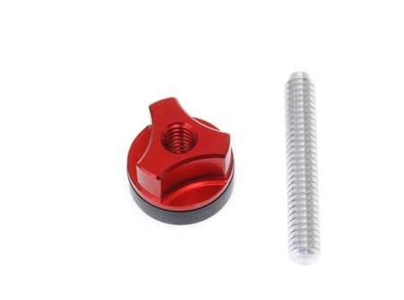 SECRAFT Camera fixing bolt(Al screw)-Red