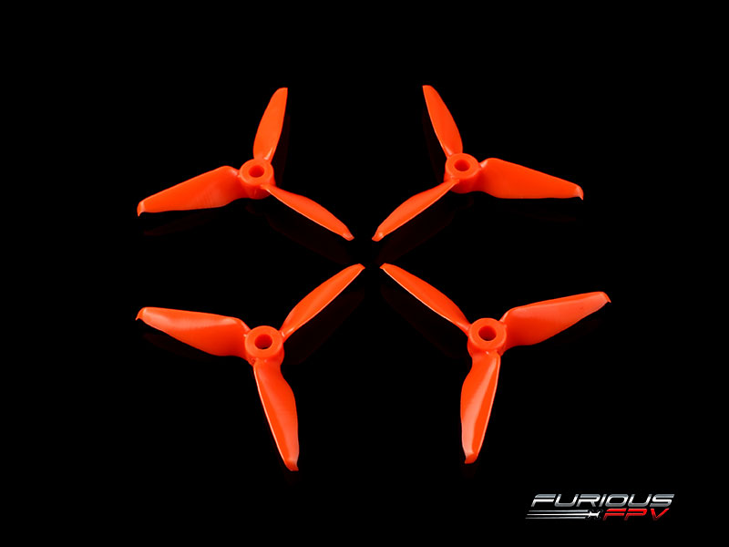 FURIOUS RageProp 3055-3 Race Edition Propeller (2CW - 2CCW) - Or