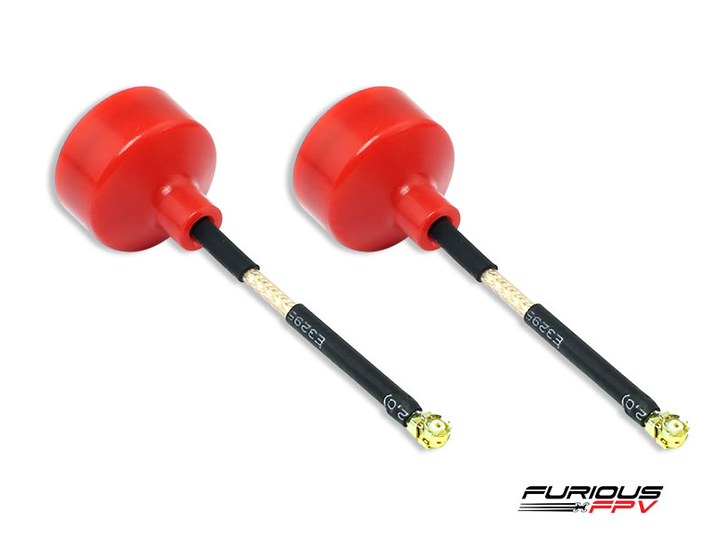 Furious FPV Big Mac 75mm Antenna U.FL - RHCP (2 pieces)
