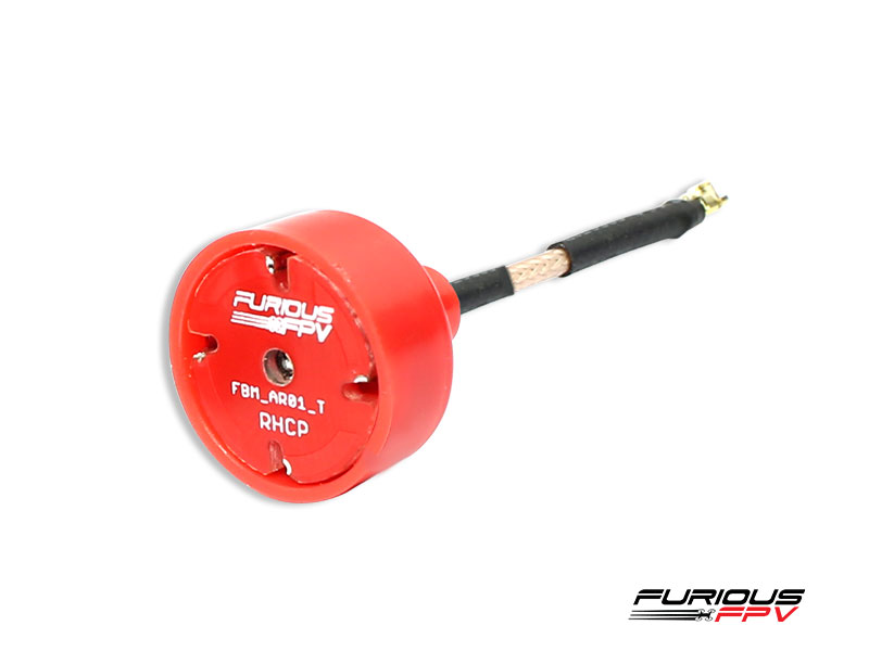 Furious FPV Big Mac Antenna U.FL - RHCP (2 pieces)