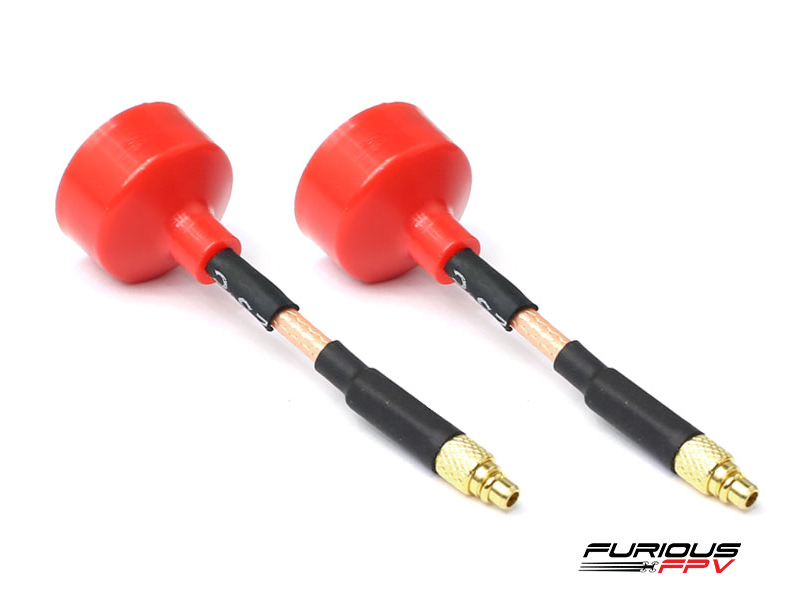 Furious FPV Big Mac Antenna MMCX Straight - RHCP (2 pieces)