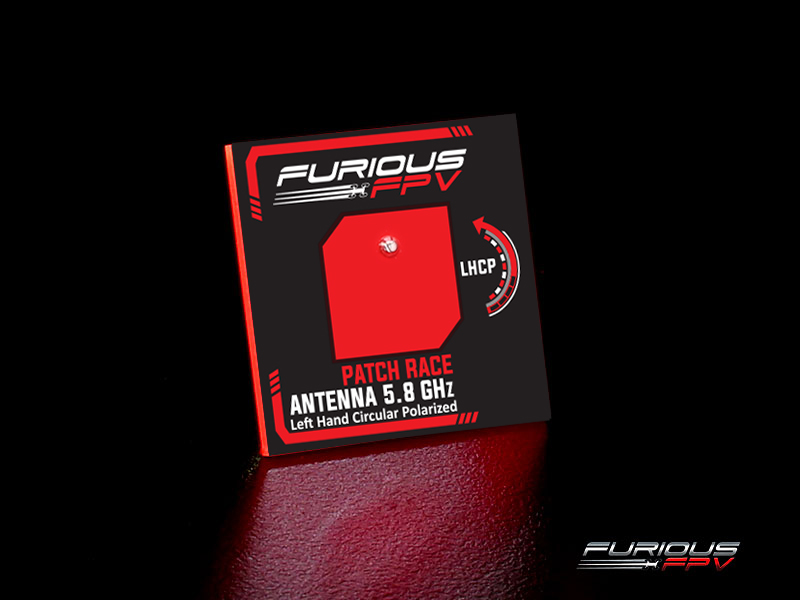 FuriousFPV - FeatherPatch Race Antenna 5.8GHz LHCP