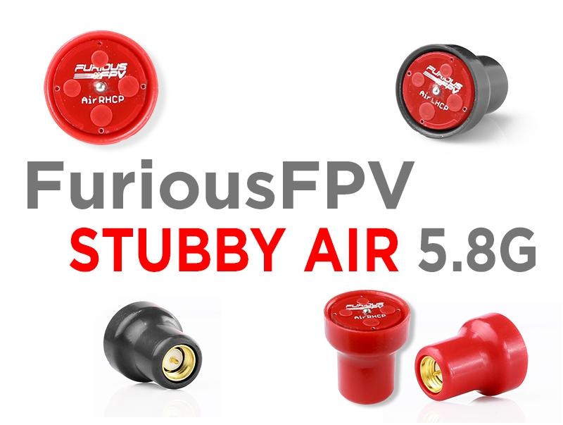 Furious FPV - RHCP Stubby Air SMA 5.8GHz Antenna 2pcs