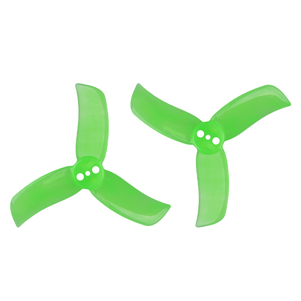 GEMFAN PC 2040 Tri-blade Propeller Set - Green (4CW/4CCW)