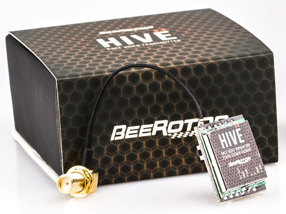 BeeRotor HiVE 5.8G 25/200/600mW 24CH/40CH Transmitter VTX SMA